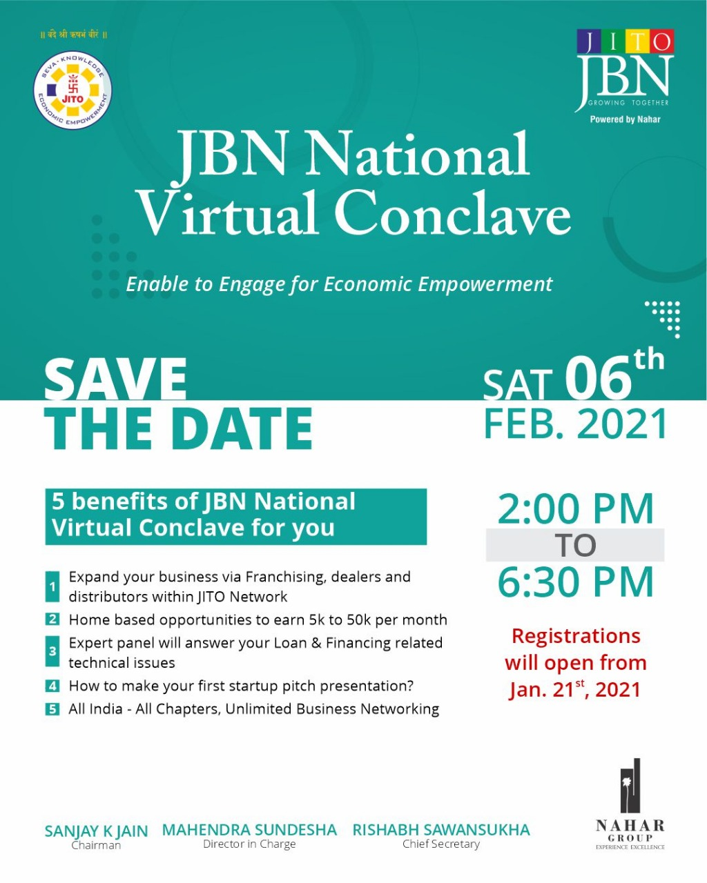 JBN National Virtual Conclave